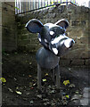 """SE1438 : """"Dog"""", Aire Sculpture Trail by habiloid"""
