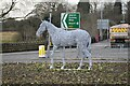 SE2337 : The white horse of Horsforth (3) by Rich Tea