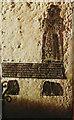 TL9849 : St Mary Magdalene, Bildeston - Late 16th century Wade memorial brass by John Baker