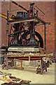 SD7009 : Bolton Steam Museum - non-dead-centre engine 1993 by Chris Allen