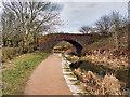 SD7506 : Seddons Fold Bridge, Manchester, Bolton and Bury Canal by David Dixon