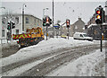 NT4836 : Winter conditions in Galashiels in December 2010 by Walter Baxter