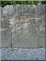 SK5297 : Old milestone on B6094 Carr Lane by Chris Minto