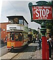 SK3454 : Crich - Tram Stop by Colin Smith