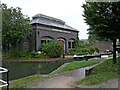 SO9388 : Blowers Green Pumphouse at Parkhead Junction, Dudley by Roger  Kidd
