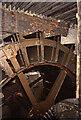 SE3231 : Thwaite Mills, Stourton - waterwheel by Chris Allen