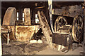 SE3231 : Thwaite Mills, Stourton - crushing and grinding machinery by Chris Allen