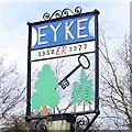 TM3151 : Eyke village sign by Adrian S Pye