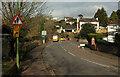 SX9063 : Old Mill Road closed by Derek Harper