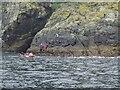 NF1097 : Leaving Dun in 2014 by Michael Earnshaw
