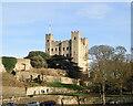TQ7468 : Rochester Castle by Phil Brandon Hunter