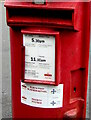 SO3700 : NHS Priority Postbox label, Usk, Monmouthshire by Jaggery