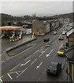ST3089 : NW along Malpas Road, Crindau, Newport by Jaggery