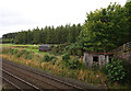 NH7446 : Railside hut, Feabuie by Craig Wallace