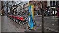 J3374 : Hand sanitiser, Belfast by Rossographer