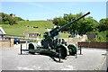 TR3241 : WW2 Anti-aircraft Gun by Peter Jeffery