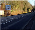 ST3092 : Newport Road directions sign, Llantarnam, Cwmbran by Jaggery