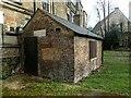 TQ2375 : Watch house in Putney Burial Ground by Marathon