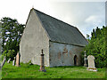NH5349 : The Old Church of Kilchrist by Stephen Craven