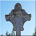 TL9949 : Bildeston village sign by Adrian S Pye