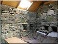 NB3348 : Shieling hut, Tom Mòr Urrahag, Isle of Lewis by Claire Pegrum