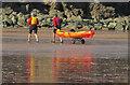 SX8957 : Kayak, Broad Sands by Derek Harper