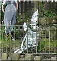 SJ9893 : Primary School Scarecrows (1) by Gerald England