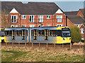 SD7908 : Metrolink Tram in Radcliffe by David Dixon
