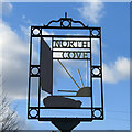 TM4689 : North Cove village sign by Adrian S Pye