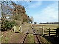 NY4754 : Footpath near Great Corby by Adrian Taylor