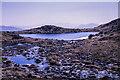 NN4473 : Lochan to west of summit of Beinn Eibhinn by Trevor Littlewood