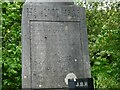 SJ9594 : Beeley Tomb inscription (2) by Gerald England