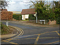SO8653 : Yew Tree Close seen across the A44 London Road, Worcester by Chris Allen