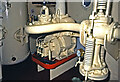 SS6592 : Helwick Lightship, Swansea - anchor winch motor by Chris Allen