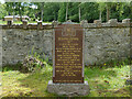 NH5052 : Urray church, grave of James Maclean by Stephen Craven