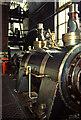 SK2083 : Bamford Mill - steam engine by Chris Allen