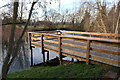 TL3967 : Viewing platform, Kingfisher Pond by Hugh Venables