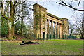 SD8303 : The Old Town Hall Colonnade at Heaton Park by David Dixon