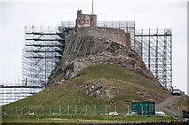 NU1341 : Lindisfarne Castle by Stuart Wilding