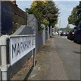 SZ0796 : Kinson: Markham Avenue by Chris Downer
