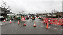 SO6024 : Car Park renovations by Jonathan Billinger