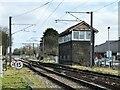 TF6219 : Signal box at King's Lynn Junction by Richard Humphrey