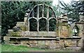 SE2708 : Part of a Cannon Hall folly by Dave Pickersgill