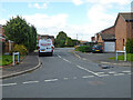 SO8552 : Marigold Close from Foxglove Road, St Peter The Great by Chris Allen