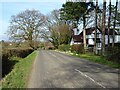 SO8042 : Road at Tyre Hill by Philip Halling
