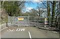 SE1122 : Road closure, Park Road, Elland by Humphrey Bolton