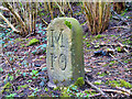 SD7707 : Milestone 10, Manchester Bolton and Bury Canal by David Dixon