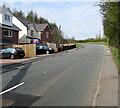 SO1210 : Towards a bend in Merthyr Road, Tafarnaubach by Jaggery