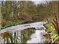 SD7908 : River Irwell at Redvales by David Dixon