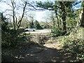 SE3620 : Traffic barrier on Green Lane, Kirkthorpe by Christine Johnstone